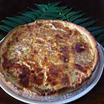 recette Quiche saumon/tomates/boursin
