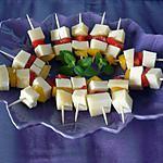 recette Amuses bouche raclette richemonts/poivrons