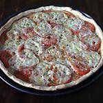 recette Tarte raclette Richemonts/tomates
