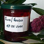 recette Confiture poires/fraises