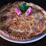 recette Quiche bacon/tomate/parmesan