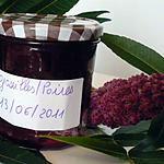 recette Confiture groseilles/poires
