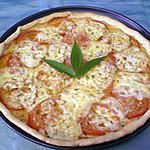 recette Tarte tomates/moutarde/mozzarella