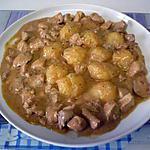 recette Mijoté de porc au porto et moutarde