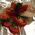 recette Papillote de cabillaud à la vapeur