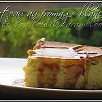 recette Gateau au fromage blanc et son coulis de caramelos