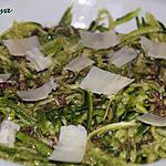 recette salade de courgettes crues à la noix de muscade