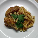 recette cari poulet au macaroni