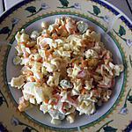 recette salade de surimi