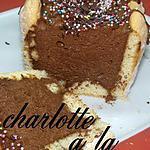 recette charlotte a la mousse au chocolat