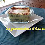 recette Lasagnes gratinées au parmesan et épinards