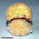 recette Boules de neige ou gâteaux roulés à la confiture et noix de coco