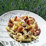 recette Salade de penne aux saveurs d'Italie