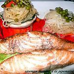 recette saumon mariné à la japonaise