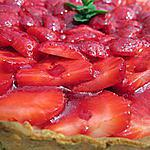 recette Tarte aux fraises ricotta/mascarpone
