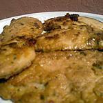 recette Escalopes de poulet marinées