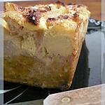 recette Pudding aux pommes, cannelle, lait ribot et pandan