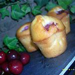 recette muffins aux cerises et grand marnier