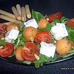 recette salade de melon à la féta