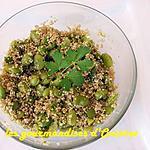 recette Taboulé de quinoa aux fèves