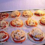 recette mini pizzas