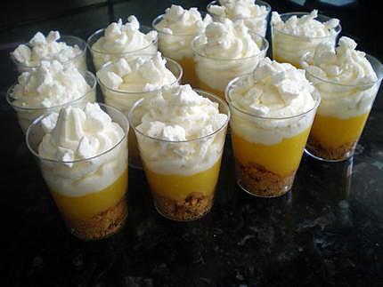 recette de verrine fa 231 on tarte au citron