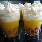 recette verrine façon tarte au citron