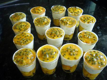 recette de verrine mangue