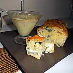 recette cake chevre courgette