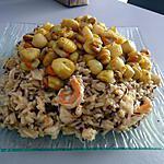 recette risotto-aux-deux-riz-petoncle-et-crevette-mascarpone-citronné