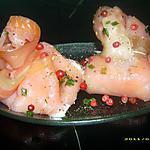 recette aumonières de saumon fumé au tzatziki