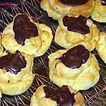 recette Choux à la crème pâtissière