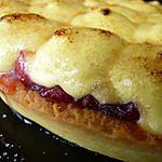 recette Tarte au mascarpone citronné et sa compotée de cerises