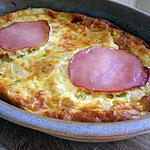 recette Clafoutis doré o bacon