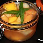 recette Soupe de fruits à la verveine