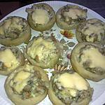 recette Fonds d'artichauds farcis aux champignons