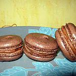 recette Macarons chocolat et spéculoos