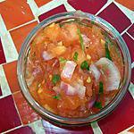recette Tartare de tomates