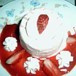 recette glace duo fraises et framboises