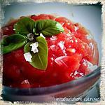recette granité de tomates