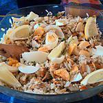 recette Salade de haddock