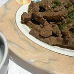 recette Foie épicé à la grecque