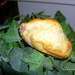 recette madeleines salées aux petits lardons et fromage