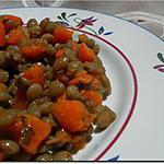 recette Salade lentilles carottes à l'huile d'argan