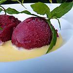 recette Sorbet aux cerises