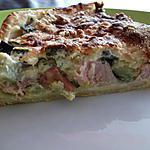 recette tarte simplicime courgette/boursin