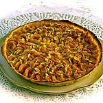 recette TARTE AUX PRUNES JAUNES
