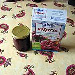 recette Confiture de groseilles et fraises des bois