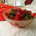 recette Verrine naturelle Rouge-Vert