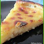 recette Pastel de nata Géant (pâtisserie Portugaise)